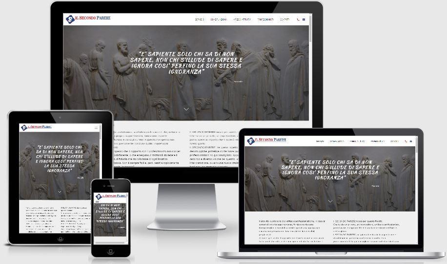sito web Il Secondo Parere per avvocati e commercialisti