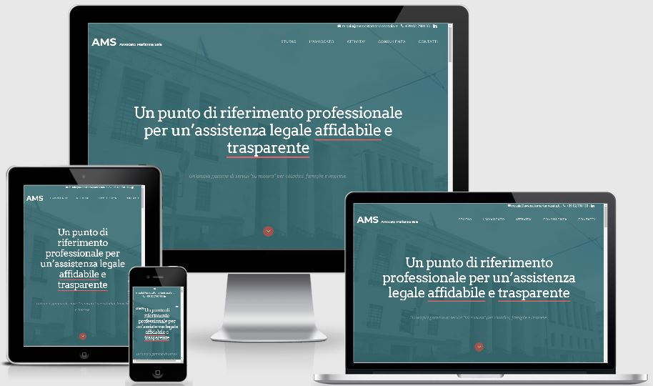 sito responsive avvocato Sala