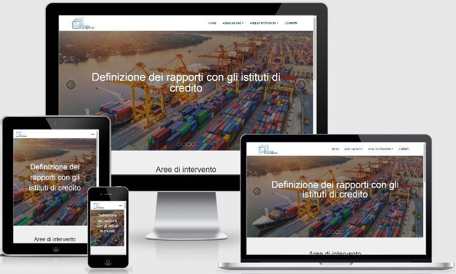 sito web responsive per associazione finanza e management