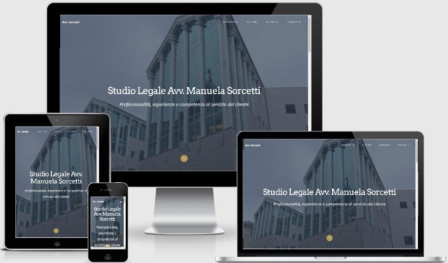sito web responsive avvocato manuela sorcetti